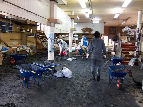 Kimono shop: after
