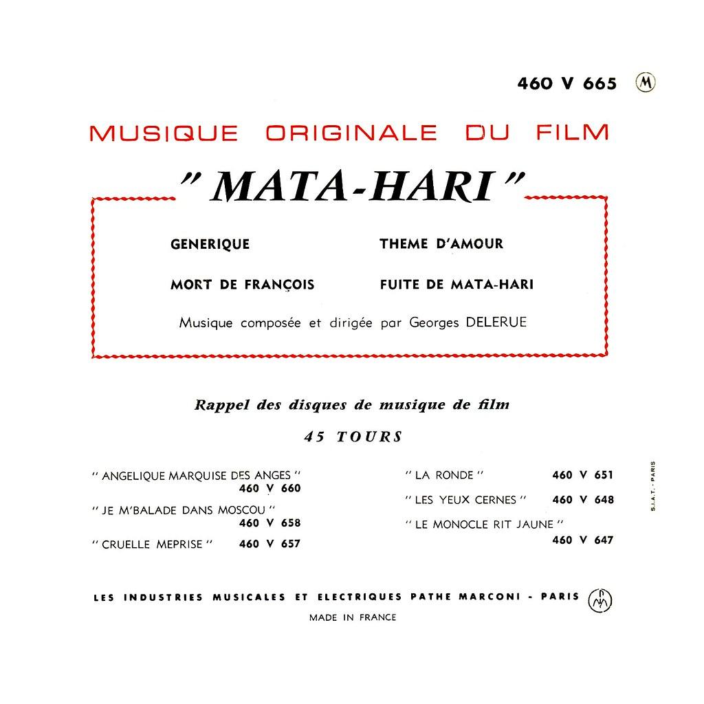 Georges Delerue - Mata Hari
