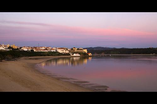 Vila Nova de Milfontes at Sunset