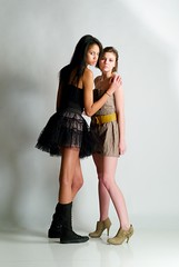 Minuette Kalia and Amanda Whelan