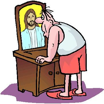 Jesus mirror