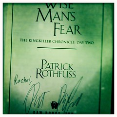 Patrick Rothfuss Signing 5