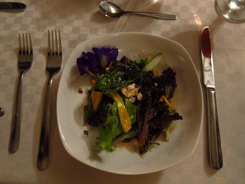 garden salad at chef tatung's