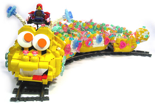 LEGO Clickipiller Train Megan Rothrock
