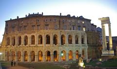 Teatre de Marcel, Roma