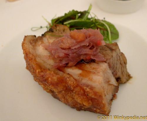 roast pork at Nopi
