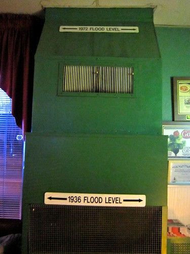 Subway Cafe Flood Levels
