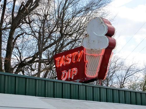 Tasty Dip Neon Sign AL