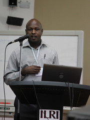 Gerald Mutinda at the AgriGender 2011 workshop
