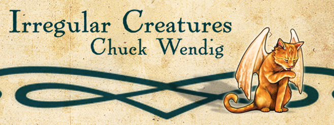 Cat-Bird Banner: Irregular Creatures
