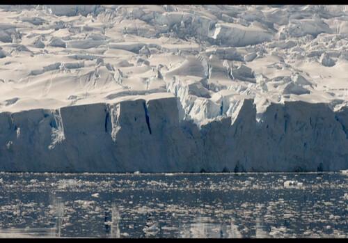 Icebergs in Antarctica