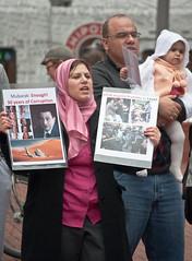 2011 Egypt Revolution Protest Rally Pioneer Sq...