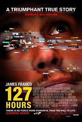 127 horas poster movie