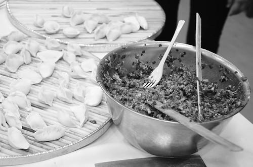 Dumpling Black and White