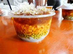 福安宮外的綠豆蒜(冰)
