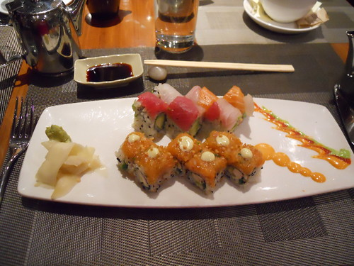 Creative sushi offerings