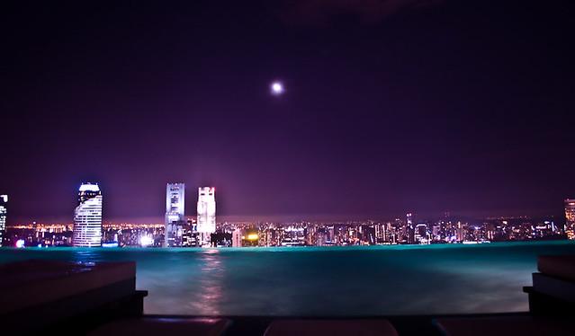 MBS Skypark (Night)