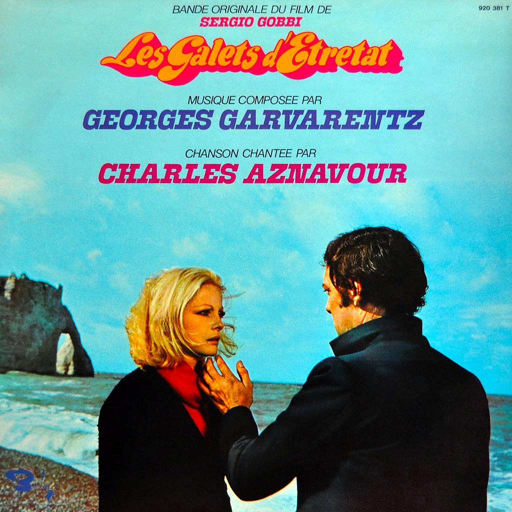 Georges Garvarentz - Les galets d'Étretat