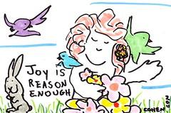 joy is reason enough #doodle
