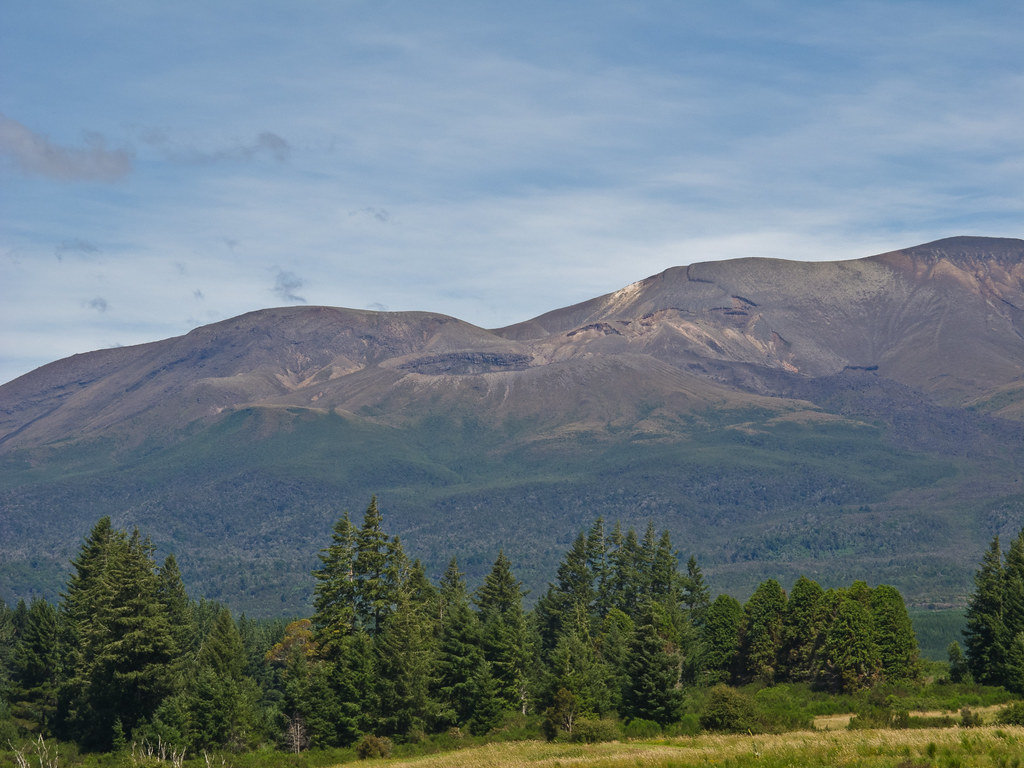Tongariro Park from the north