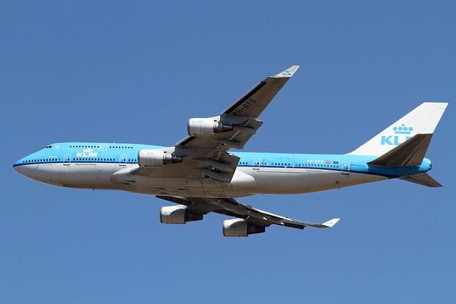 KLM B747-400M(PH-BFE)