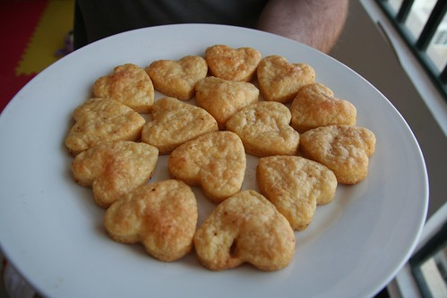 vday cheese hearts