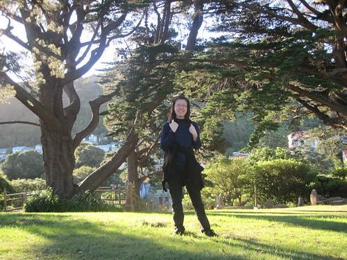 Melissa in the summer of 2011, Wellington
