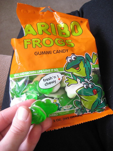 haribo frogs