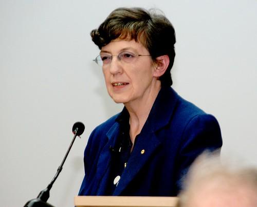 Gabrielle Persley at her farewell seminar