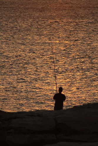 2011-01-29 Fishing at Dusk