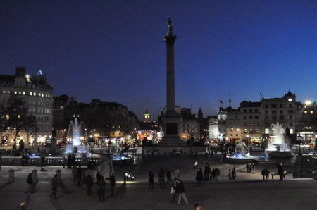 Trafalgar Square and Big Ben