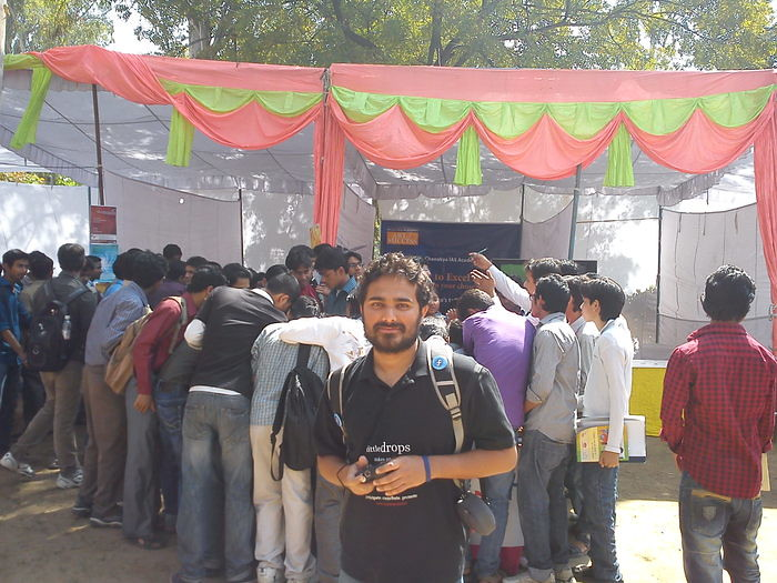 Crowd at Linux Adda