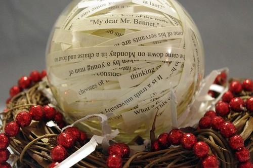 Etsy excessivelydiverting Jane Austen's Pride & Prejudice 4in Christmas Ornament $8.50