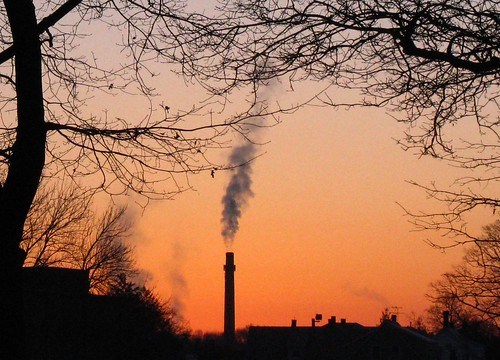 Morning Smokestack