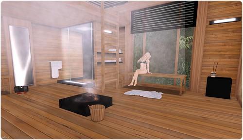 Style - Belle Belle Sauna, steamy!