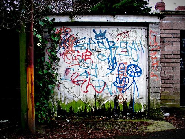 Stickman Grafitti Character in Canton
