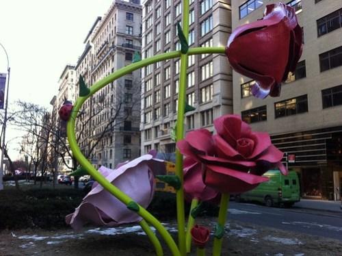 Will Ryman sculpture at 59th & Park