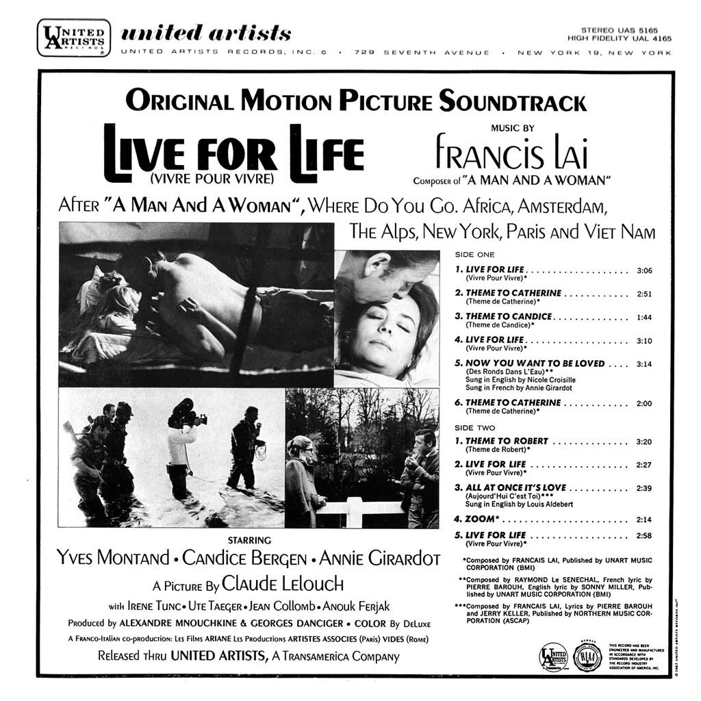 Francis Lai - Vivre pour Vivre