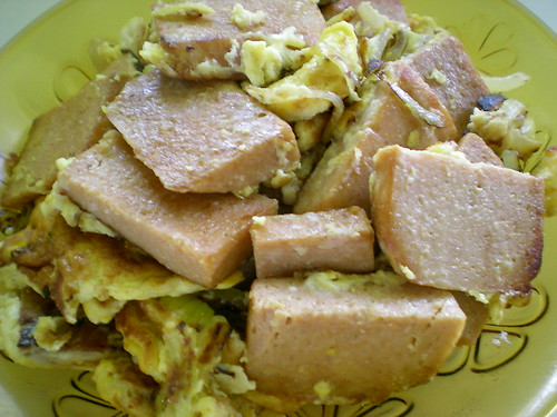 Cooking luncheon meat 6