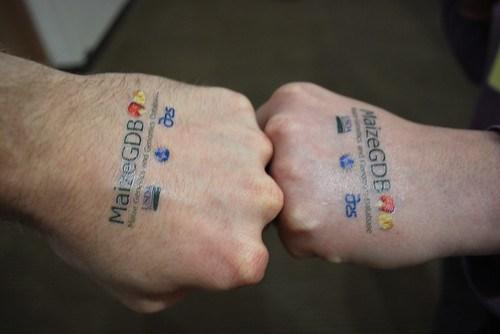 Tattooed Hands