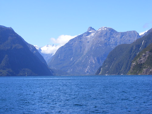 Picture from Milford Sound