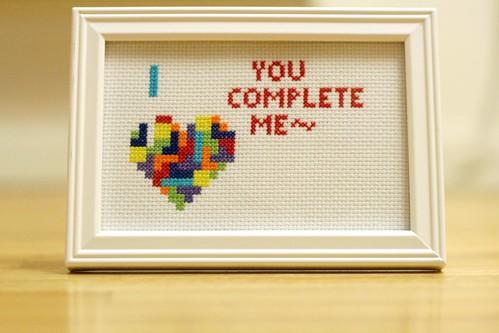 handmade52.7 tetris cross stitch