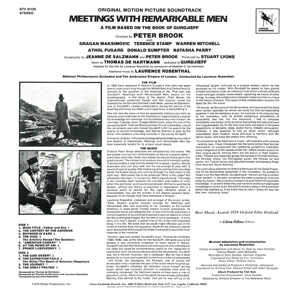 Laurence Rosenthal - Meetings with Remarkable Men