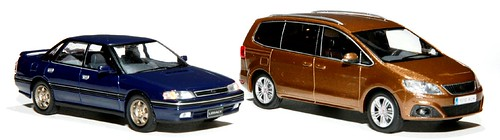 IXO Subaru Legacy Turbo RS + Seat Ahlambra