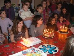 Poppy Elinor and Maddy's birthday party - february 2011 068