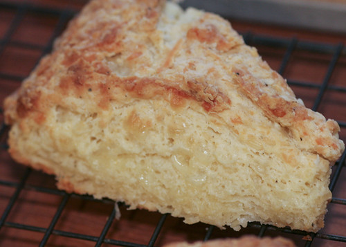 Flaky, Cheesy Layers