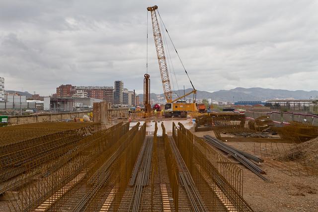 Ronda Sant Martí desde Pont del Treball - Norte - 14-03-11