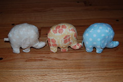 herd of pin cushions