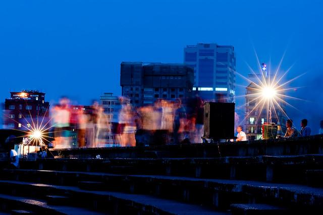 Late Evening Aerobic at Olympic Stadium