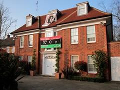 Saif Gaddafi's House, East Finchley 27/03/2011